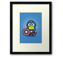 Captain Minerica Framed Print