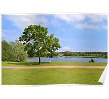 Cosmeston Lakes Country Park Poster