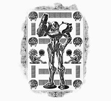 Metroid Samus Aran Geek Line Artly T-Shirt