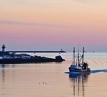 Returning from Sea on a Winter's Night by Steve Borichevsky
