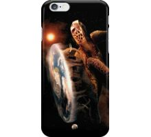 Turtle World - Space black transparency iPhone Case/Skin