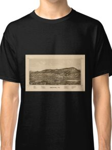 Panoramic Maps Bristol Vt Classic T-Shirt