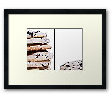 Tea Biscuits Framed Print