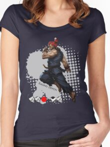 Raging Demon Women's Fitted Scoop T-Shirt