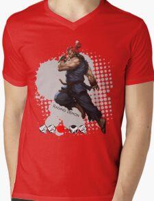Raging Demon Mens V-Neck T-Shirt