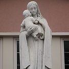 the virgin mary by photofanatic