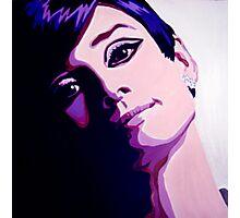 Audrey Hepburn in pop art by db Artstudio Photographic Print
