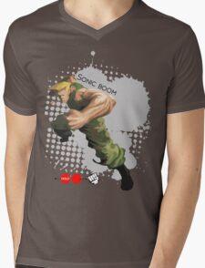Sonic Boom Mens V-Neck T-Shirt