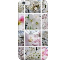 Cherry Blossoms Montage 1 iPhone Case/Skin