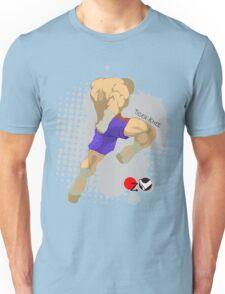 Tiger knee Unisex T-Shirt