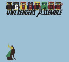 Owlvengers Assemble by Anglofile