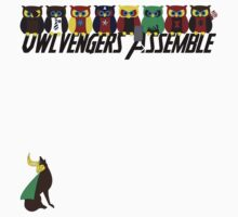 Owlvengers Assemble Kids Clothes