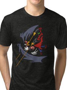 The Evil Buzzard vs Ciube Tri-blend T-Shirt