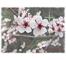 Strength and beauty Photographic Print