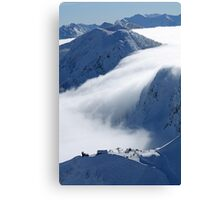 Escaping clouds Canvas Print
