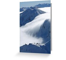 Escaping clouds Greeting Card