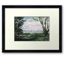 Plein Air 2 Framed Print