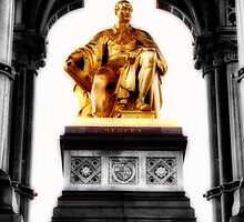 Prince Albert memorial, London by Wintermute69