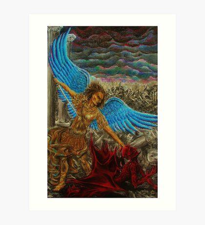 Saint Michael, Archangel Art Print