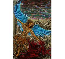 Saint Michael, Archangel Photographic Print
