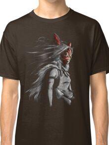 Mononoke Wolf Anime Tra Digital Painting Classic T-Shirt