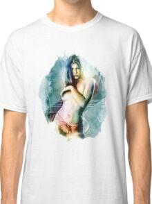 Jessica Biel Celebrity Tra Digital Painting  Classic T-Shirt