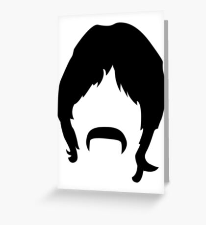 Boomer (on your walls)! Greeting Card