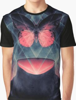 Beautiful Symmetry Surreal Butterfly Graphic T-Shirt