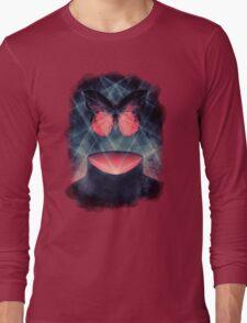 Beautiful Symmetry Surreal Butterfly Long Sleeve T-Shirt