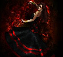 Flamenco Dancer by Shanina Conway