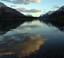 Waterton Lake Sunset by Vivian Christopher