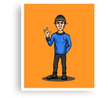Live Long and Prosper - Spock Canvas Print