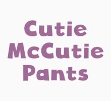 Cutie McCutie Pants Kids Clothes