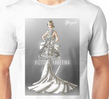 Georgette Wedding Gown Unisex T-Shirt