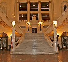 Pennsylvania State Capitol Rotuna by Mary Fox