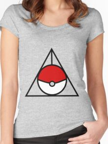 Pokemon Hallows Women's Fitted Scoop T-Shirt