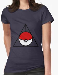 Pokemon Hallows Womens Fitted T-Shirt
