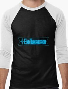 End Transmission Games Logo Men's Baseball ¾ T-Shirt