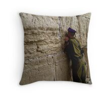 God's Soldier Throw Pillow