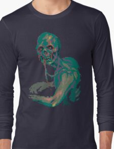 Pixel Zombie Long Sleeve T-Shirt