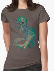 Pixel Zombie Womens Fitted T-Shirt