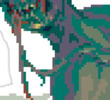 Pixel Zombie Sticker