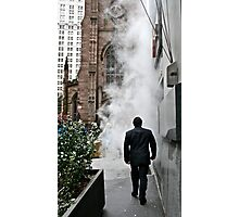 Smoke in New York Photographic Print