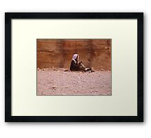 At Peace. Framed Print