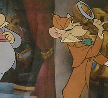 Basil Of Baker Street Sherlock Holmes Great Mouse Detective by notheothereye