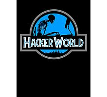 Hacker World Photographic Print