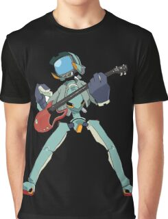 FLCL Music Band Graphic T-Shirt