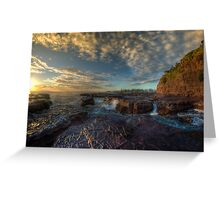 Kiama Morning Sunrise HDR v2 Greeting Card