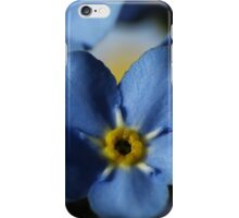 Forget-Me-Nots 7 iPhone Case/Skin