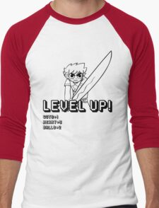 Level Up (w/ Scott Pilgrim) Men's Baseball ¾ T-Shirt